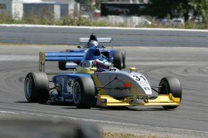 Formula Mazda race car