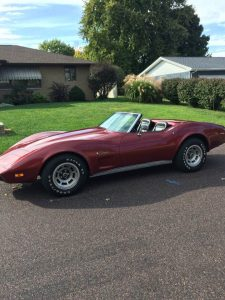 1975 Corvette Stingray convertible