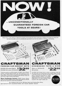 Sears ad 1961